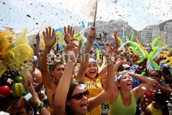 Celebración en Rio de Janeiro. 2 de Octubre 2009.